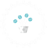 Тюльпаны в цветочном горшке