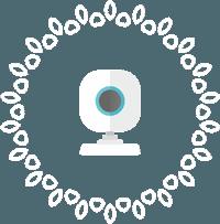Белая вебкамера