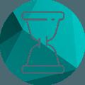 прозрачные песочные часы