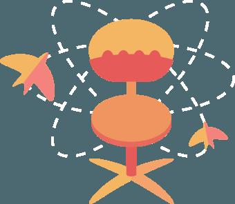 рабочий стул модели
