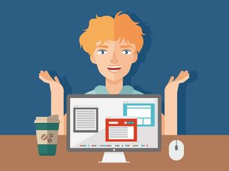 Выбор профессии в интернете