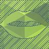 губы с зелёной помадой