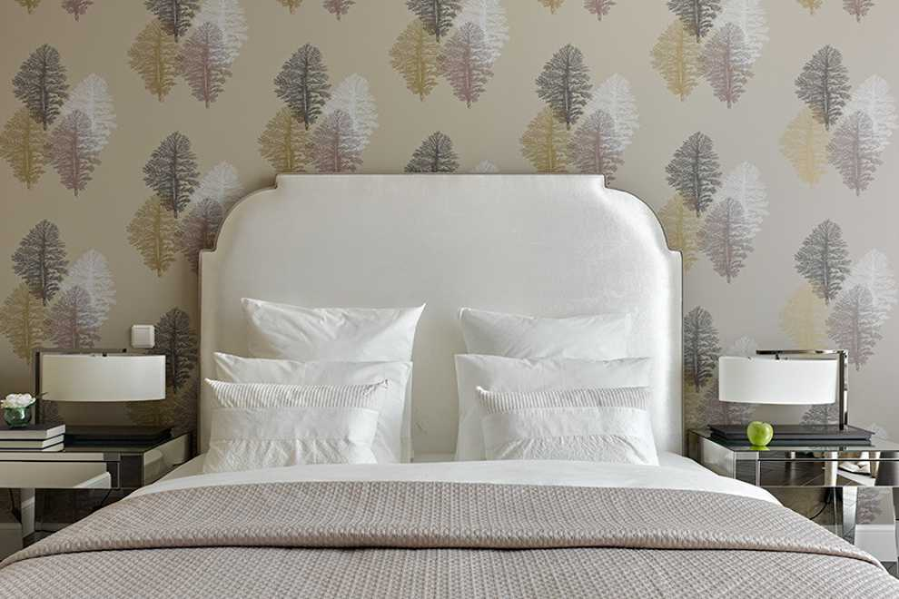 удачное расположение кровати