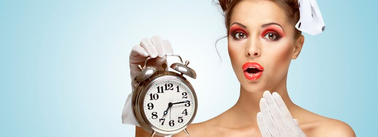 девушка всегда опаздывает