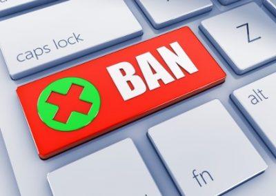 Информация для заблокированных пользователей